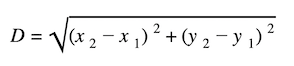distance and midpoint formula: Distance formula