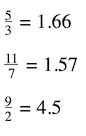 improper fractions converted into decimal numbers