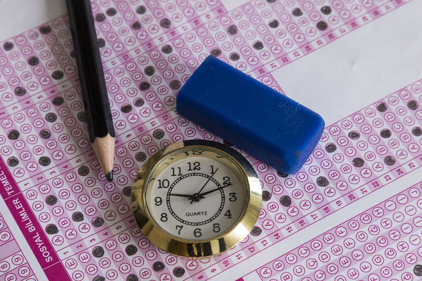 How long is the SAT test: A scantron, a pencil, an eraser, and a pocket watch