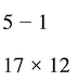 What is an algebraic expression: Numerical expressions