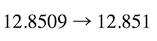 Rounding decimals: rounding to the thousdanth place