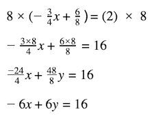 formula on how to remove the fractions