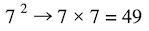 Fractions with exponents: exponent of two